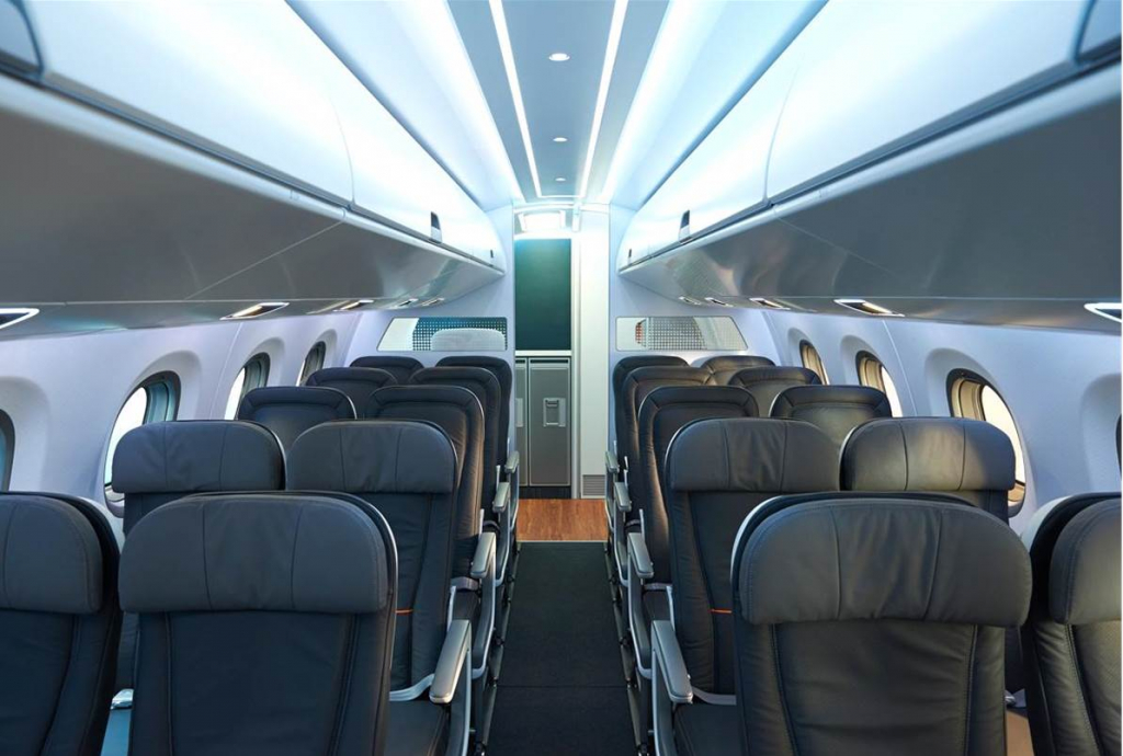Embraer 175 Interior