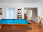 Entertainment Room Pool Table (Antilles Pearl)